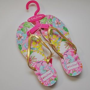 2a66f93110ea Lilly Pulitzer for Target Flip Flops Nosey Posey